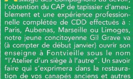 Journal de Fontvieille – Décembre 2009