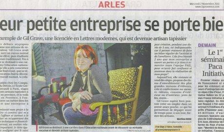 La Provence – 2 novembre 2011