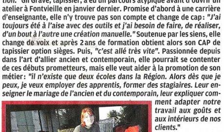 La Provence – 27 novembre 2010