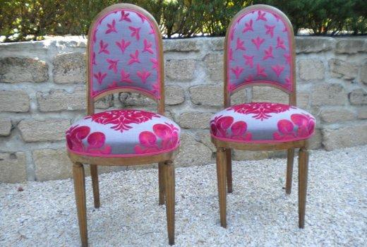 Atelier d'un Siège à l'Autre Rénovation restauration de sièges Arles Après