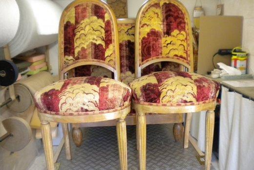 Atelier d'un Siège à l'Autre Rénovation restauration de sièges Arles Avant