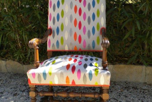 Atelier d'un Siège à l'Autre Rénovation restauration de fauteuils Arles Après